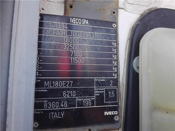 cabina completa iveco supercargo fki 180 e 27 foto 2