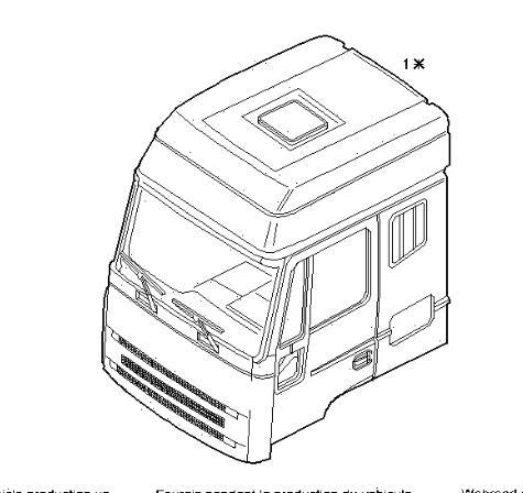 cabina completa iveco eurotech              (mp) fsa     (440 e 43) [10,3 ltr.   316 kw diesel]