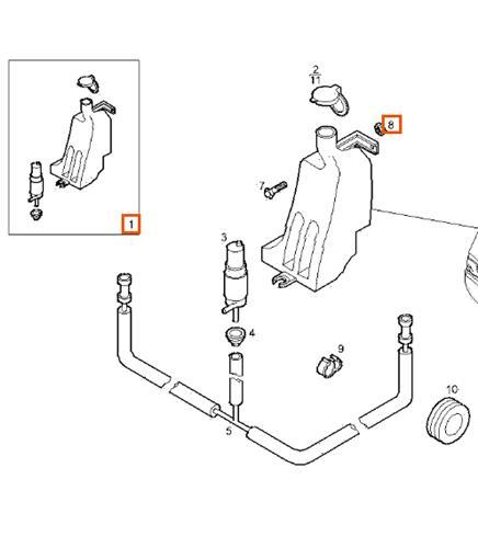 deposito limpia parabrisas iveco daily ii 35 foto 1