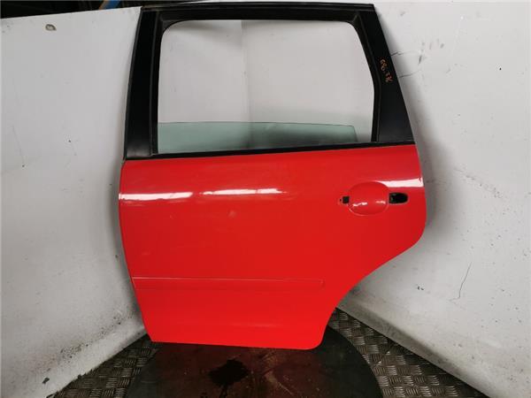 puerta trasera izquierda volkswagen polo iv 1 foto 2