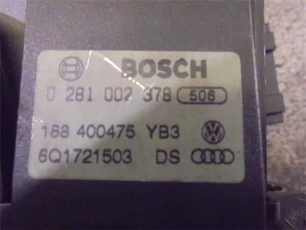 potenciometro pedal gas skoda fabia familiar foto 3