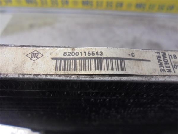 radiador aire acondicionado renault scenic ii foto 3