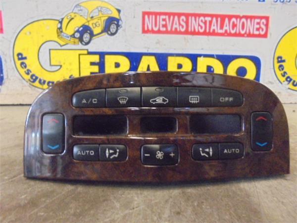 mandos climatizador peugeot 607 (s1)( >2004) 3.0 pack [3,0 ltr.   152 kw v6 24v]