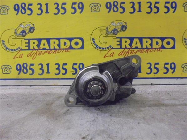 motor arranque skoda fabia (6y2/6y3)(2000 >) 1.4 attractive [1,4 ltr.   74 kw 16v]