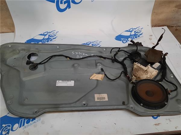 mecanismo elevalunas delantero izquierdo seat foto 1