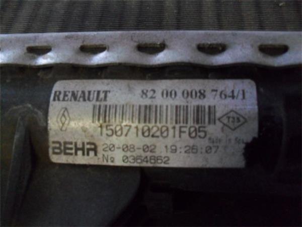 radiador renault laguna ii 19 expression foto 2