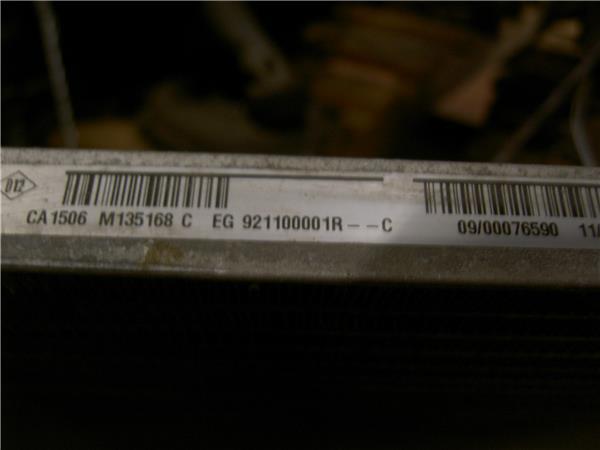 radiador aire acondicionado renault grand sce foto 3