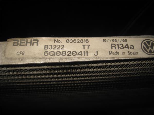 radiador aire acondicionado seat ibiza 14 16v foto 3