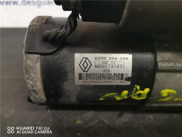 motor arranque renault megane ii 15 dci foto 5
