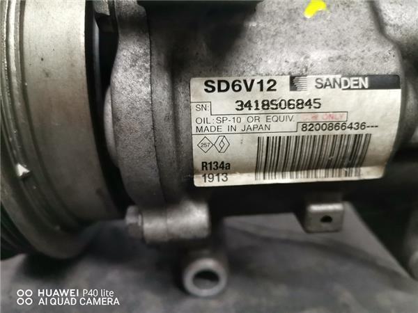 compresor aire acondicionado renault clio ii foto 3