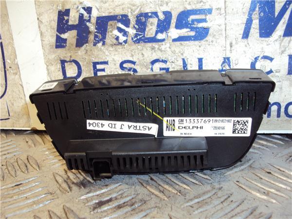 mandos climatizador opel astra j 14 foto 2