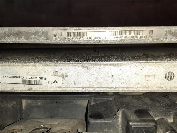 radiador aire acondicionado renault megane ii foto 3
