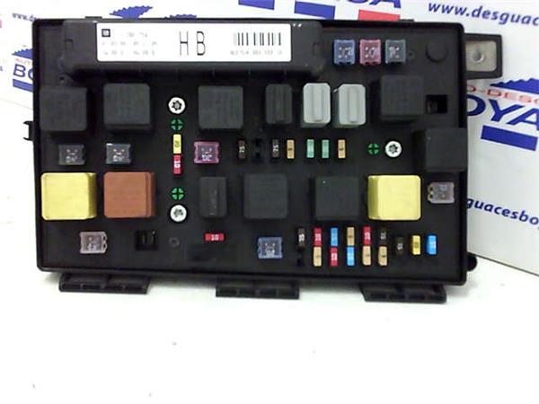 caja reles opel zafira 1.9 cdti