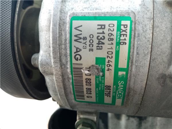 compresor aire acondicionado volkswagen toura foto 1