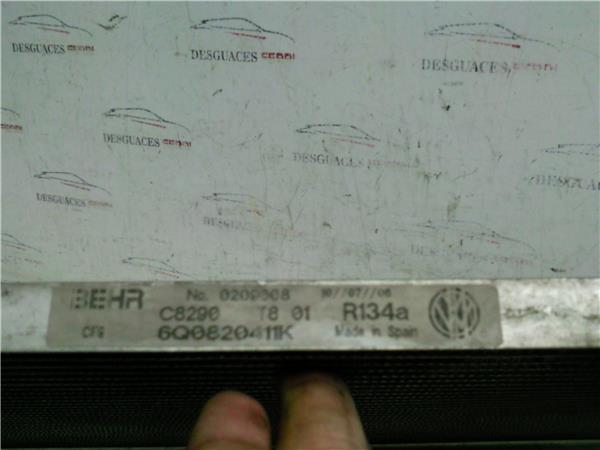 radiador aire acondicionado seat ibiza 19 tdi foto 3
