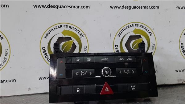 mandos climatizador peugeot 407 (2004 >) 2.0 sport [2,0 ltr.   103 kw 16v hdi fap]