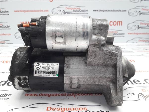 motor arranque renault megane iii berlina 5p (2008 >) 1.5 generation [1,5 ltr.   66 kw dci diesel fap]